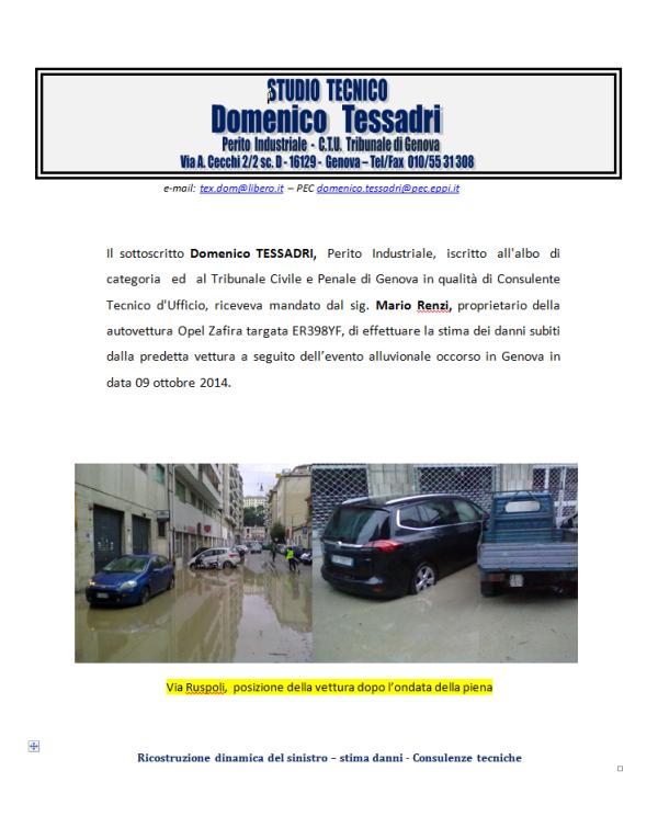 perizia alluvione tessadri