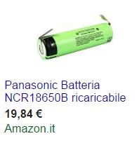 unità batteria tesla