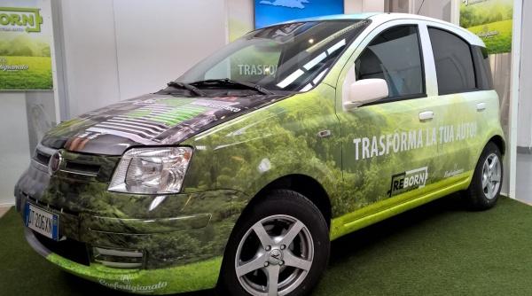 auto trasformata in elettrica