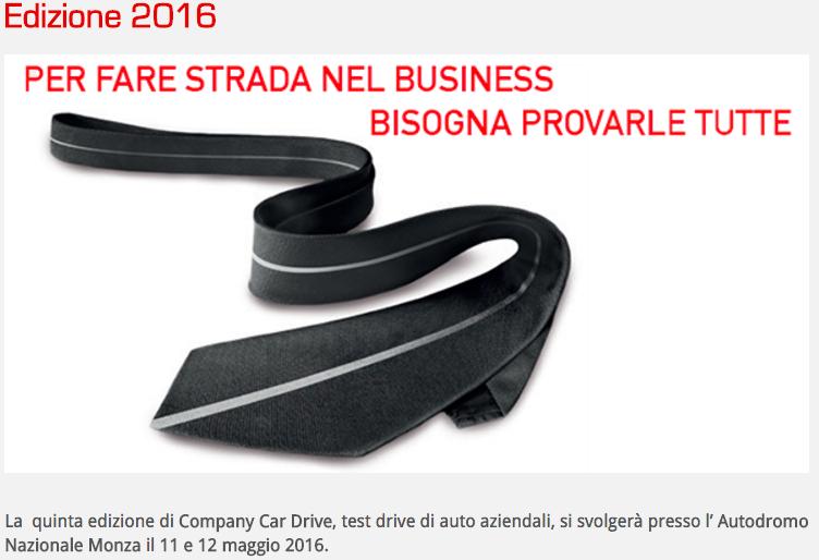company car drive 2016