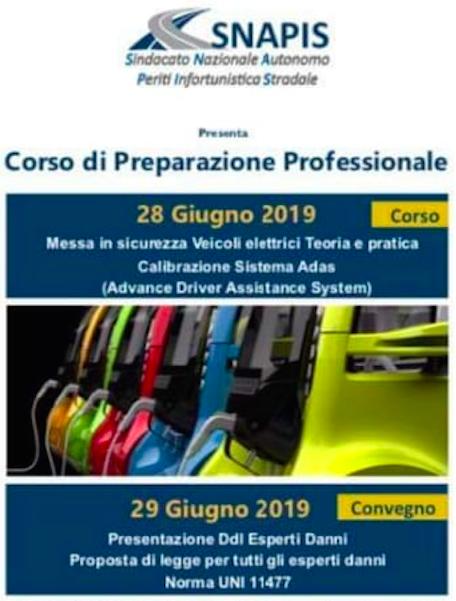 Corso di Preparazione Professionale SNAPIS Catania 28 e 29 Giugno