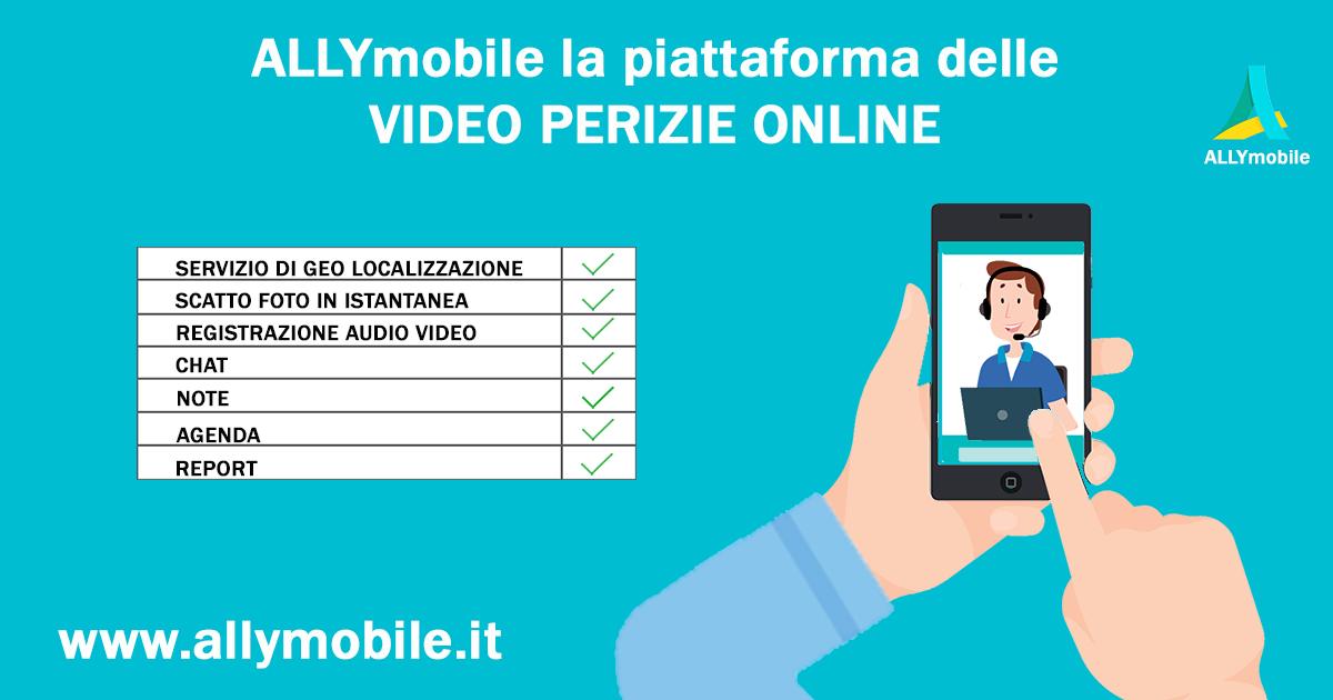 ALLYmobile: video perizie online a portata di smartphone