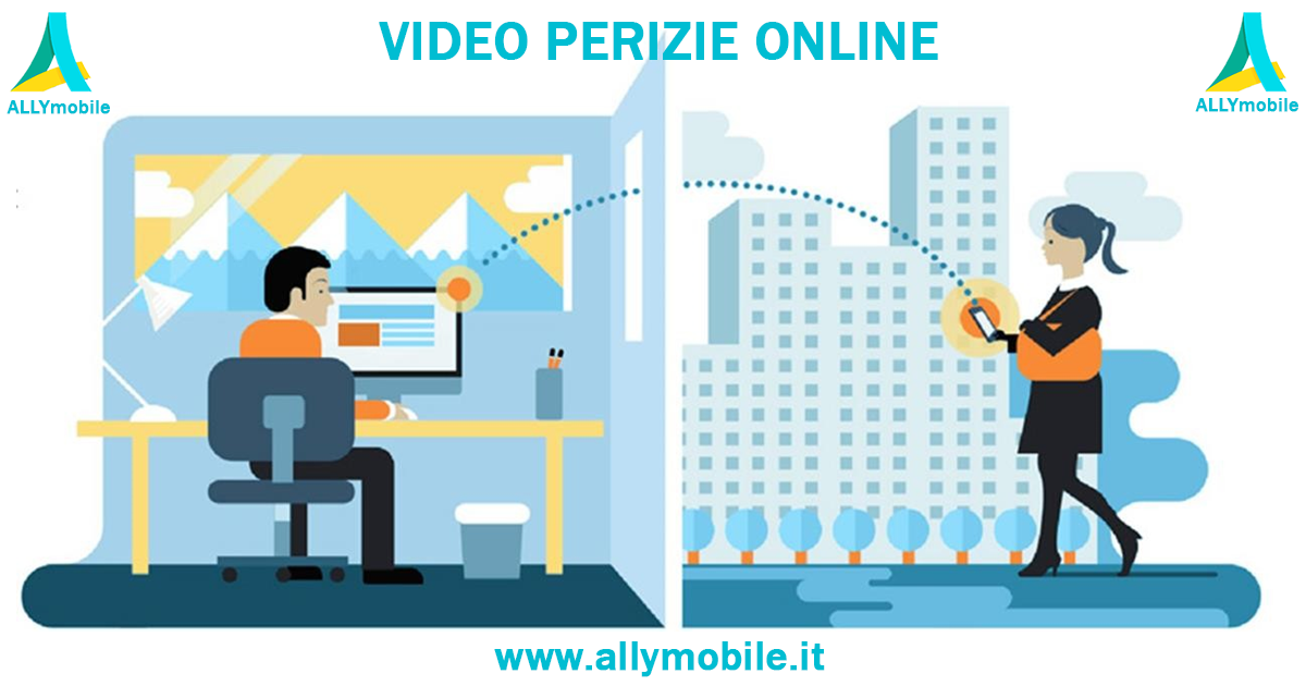 ALLYmobile, un servizio di video perizie online a portata di smartphone