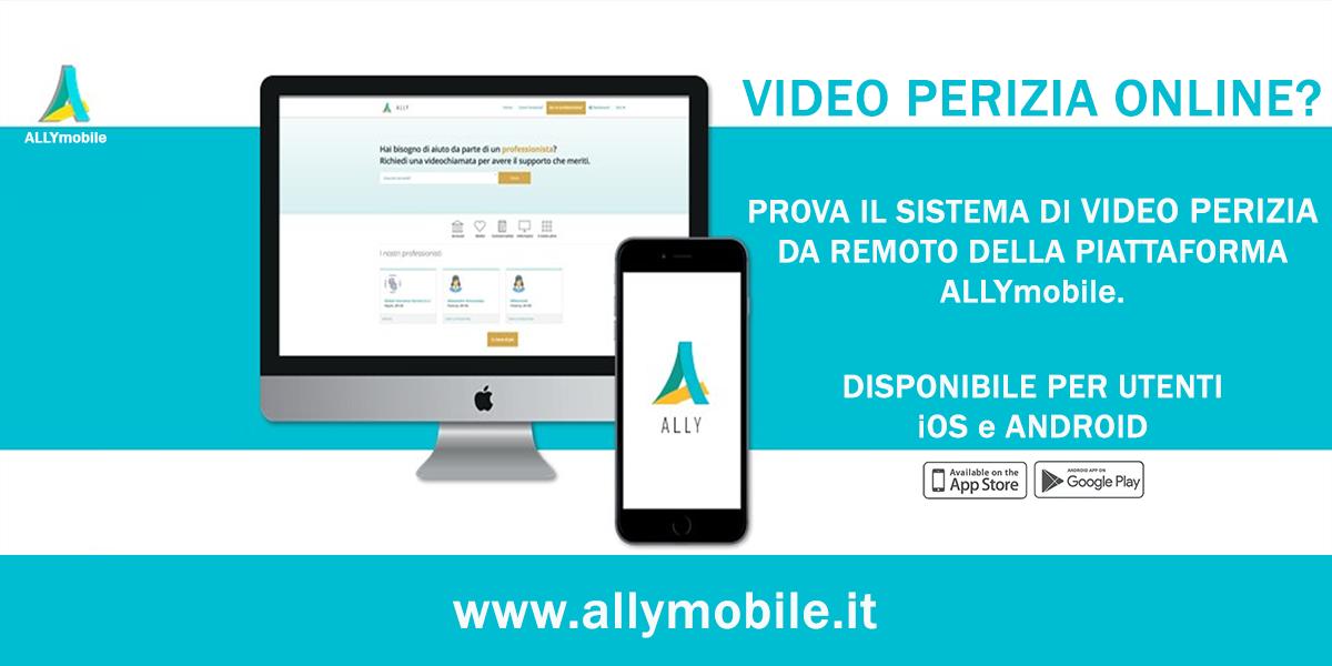ALLYmobile un sistema di video perizie online a portata di smartphone